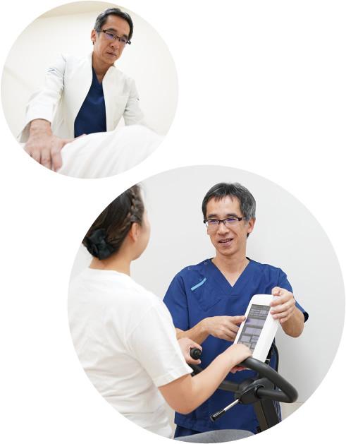 心臓リハビリに使用する設備